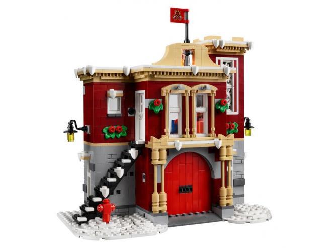LEGO CREATOR 10263 - CASERMA DEI POMPIERI DEL VILLAGGIO INVERNALE