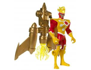 BATMAN T1586 - ROCKET BLAST FIRESTORM FIGURE Playset SCATOLA ROVINATA
