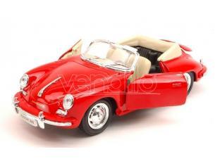 Welly WE29390R PORSCHE 356B 1958 RED 1:24 Modellino