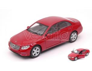 Welly WE38513F MERCEDES E-CLASS 2016 RED cm 11 Modellino