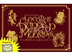 SQUARE ENIX CHOCOBO S DUNGEON AND MONSTERS GIOCO DA TAVOLO