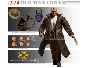 MEZCO TOYS WOLVERINE OLD MAN LOGAN CLOTH AF ACTION FIGURE