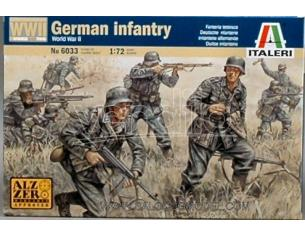 Italeri IT6033 GERMAN INFANTRY KIT 1:72 Modellino