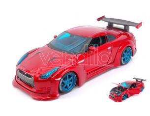 Maisto MI32526 NISSAN GT-R 2009 METALLIC RED 1:24 Modellino