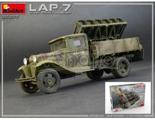 Miniart MIN35277 SOVIET ROCKET LAUNCHER LAP-7 KIT 1:35 Modellino