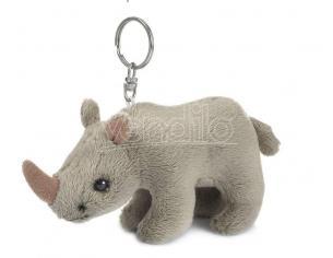 WWF 205026 - Peluche Portachiavi Rinoceronte 10 cm