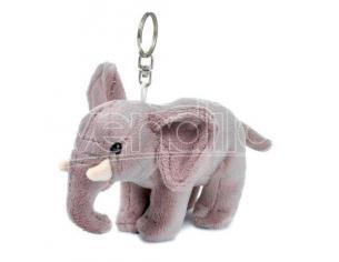 WWF 205024 - Peluche Portachiavi Elefante 10 cm