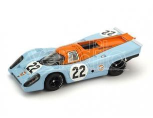 Brumm BM0495 PORSCHE 917K N.22 RETIRED (ACCIDENT) LM 1970 HAIWOOD-HOBBS 1:43 Modellino