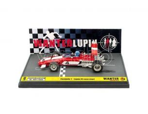 Brumm BML06 FERRARI 312B WANTED LUPIN RACE START 1:43 Modellino