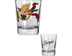 SD TOYS DC BOMBSHELLS MINI GLASSES SET (4) BICCHIERI