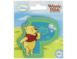 Sevi Trudi 82774 - Lettera Adesiva P Winnie The Pooh 7 cm
