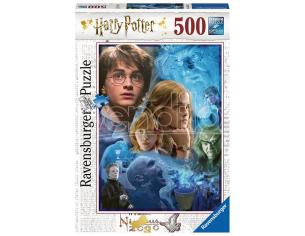 RAVENSBURGER: 500PZ HARRY POTTER PUZZLE