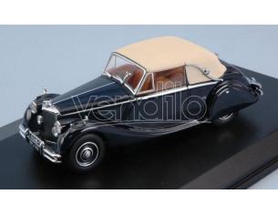 Oxford OXF43JAG5003 JAGUAR MKV RHD DARK BLUE W/BEIGE ROOF 1:43 Modellino