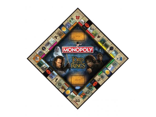 Gioco da Tavolo Monopoly Signore degli Anelli Versione Inglese Winning Moves