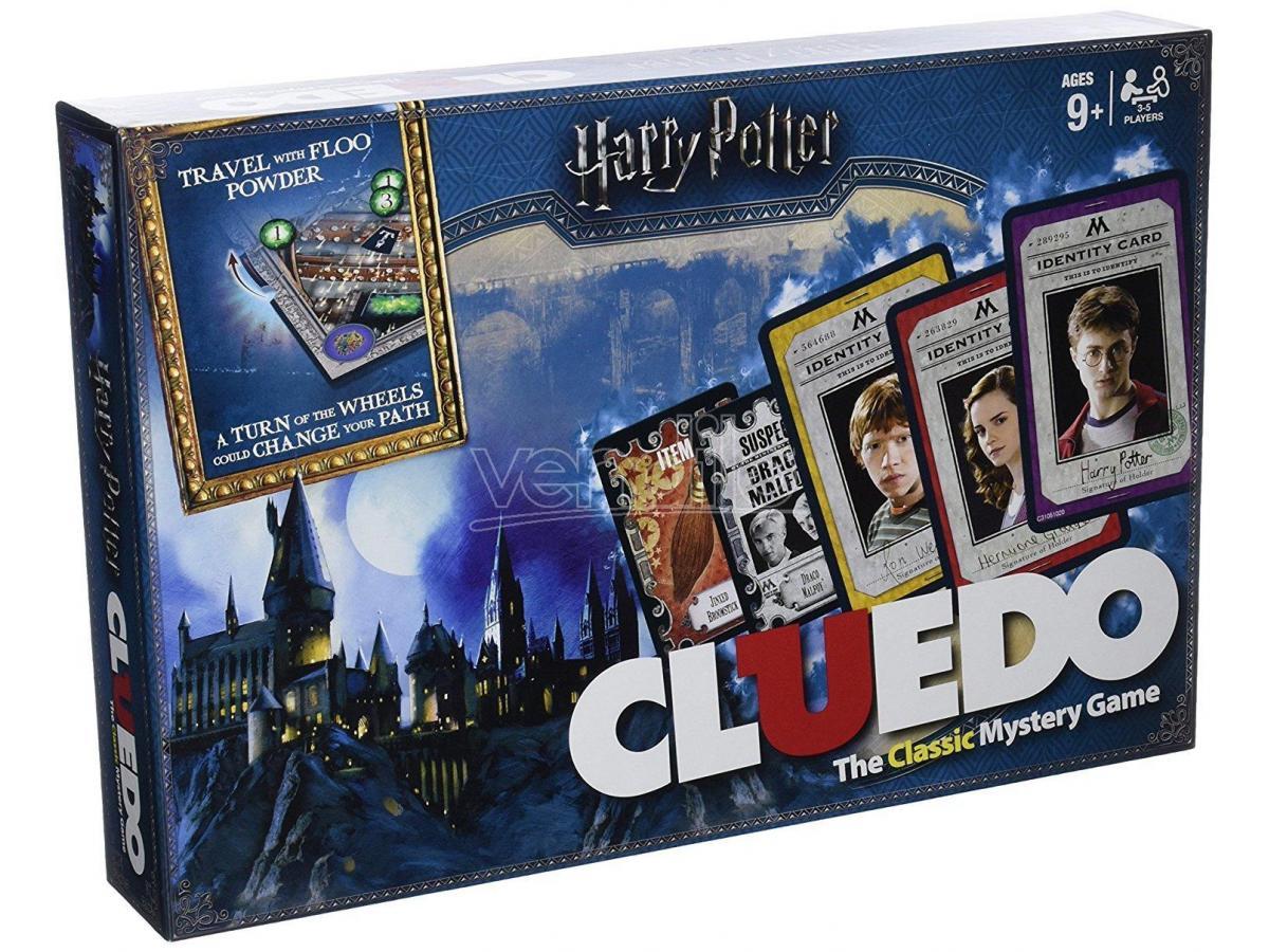 Cluedo Harry Potter Gioco da Tavolo Versione Inglese Winning Moves