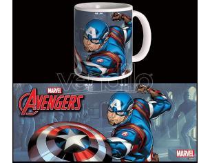Semic Avengers S.2 Captain America Tazza