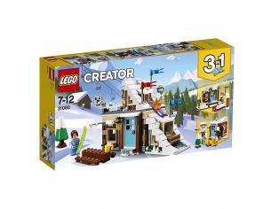 LEGO CREATOR 31080 - VACANZA INVERNALE MODULARE SCATOLA ROVINATA