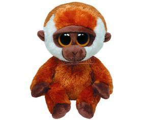 Ty 7136977 - Beanie Buddy, Glubschi, Bongo Peluche scimmia 24 cm
