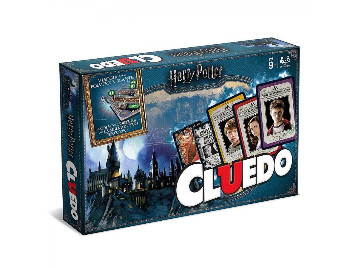 Cluedo Harry Potter Gioco da Tavolo Versione Italiano Winning SCATOLA ROVINATA