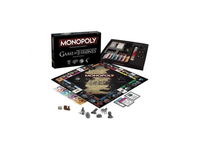 Gioco da Tavolo Monopoly Game of Thrones Italiana Winning SCATOLA ROVINATA