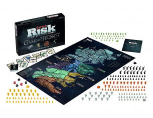 Gioco da Tavolo Risiko Game of Thrones Skirmish Inglese Winning SENZA PELLICOLA