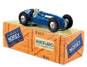 Norev NVCL5812 TALBOT LAGO T26C 1950 N.8 G.GRIGNARD 1er GRAND PRIX DE PARIS 1:43 Modellino