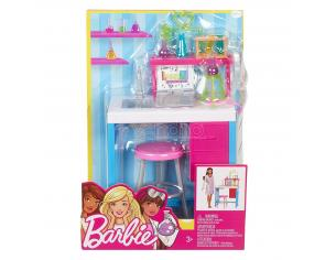BARBIE LABORATORIO DI SCIENZE CON PIANO DI LAVORO BAMBOLE E ACCESSORI