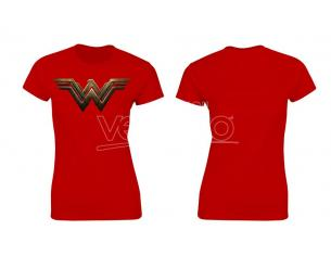 SD TOYS T-SHIRT BVS WONDER WOMAN LOGO RED WOMEN TAGLIA S T-SHIRT