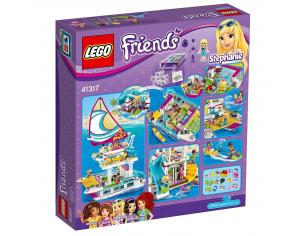 LEGO FRIENDS 41317 - IL CATAMARANO SCATOLA ROVINATA
