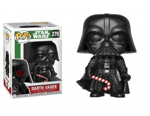 Funko Star Wars POP Movies Vinile Figura Darth Vader Vacanze di Natale 9 cm