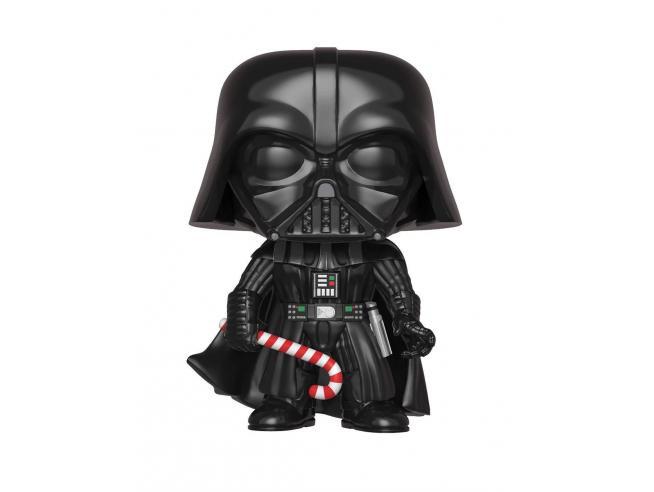 Funko Star Wars POP Movies Vinile Figura Darth Vader Vacanze di Natale 9 cm