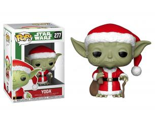 Funko Star Wars POP Movies Vinile Figura Santa Yoda Vacanze di Natale 9 cm