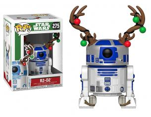 Funko Star Wars POP Movies Vinile R2-D2 Vacanze Natale 9 cm