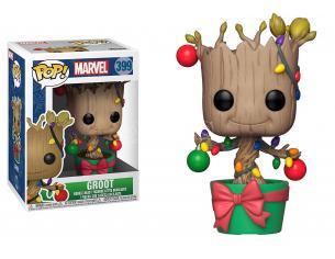 Funko DC Comics POP Marvel Vinile Figura Groot con luci Vacanze di Natale 9 cm