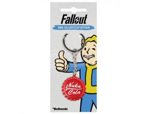 GAYA ENTERTAINMENT FALLOUT NUKA COLA BOTTLECAP KEYCHAIN PORTACHIAVI