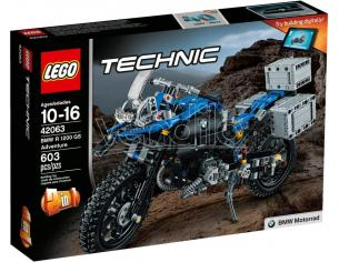 LEGO TECHNIC 42063 - BMW R 1200 GS ADVENTURE SCATOLA ROVINATA