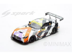 Spark Model S18SA016 MERCEDES AMG GT3 N.999 3rd FIA GT WORLD CUP MACAU 2017 M.ENGEL 1:18 Modellino