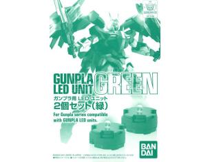 BANDAI MODEL KIT MG LED UNIT SET GREEN ACCESSORI