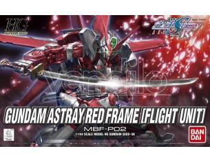 BANDAI MODEL KIT HG GUNDAM ASTRAY RED FRAME FLIGHT 1/144 MODEL KIT
