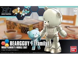 BANDAI MODEL KIT HGBF BEARGGUY III F FAMILY 1/144 MODEL KIT
