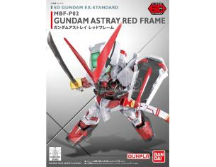 BANDAI MODEL KIT SD GUNDAM RED FRAME EX STANDARD 007 MODEL KIT