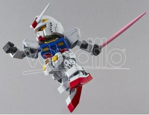 BANDAI MODEL KIT SD GUNDAM RX-78-2 EX STD 001 MODEL KIT