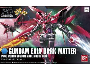 BANDAI MODEL KIT HGBF GUNDAM EXIA DARK MATTER 1/144 MODEL KIT