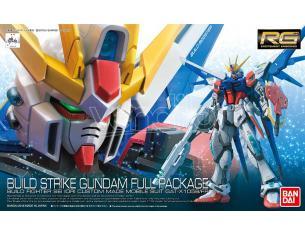 BANDAI MODEL KIT RG 1/144 GUNDAM BUILD STR FULL PCK 1/144 MODEL KIT