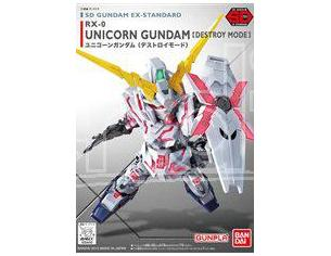 BANDAI MODEL KIT SD GUNDAM UNICORN DESTROY EX STD 005 MODEL KIT