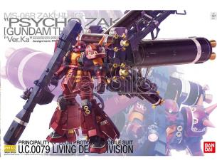BANDAI MODEL KIT MG ZAKU HIGH MOB PSYCHO ZAKU VR KA 1/100 MODEL KIT