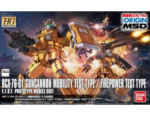 BANDAI MODEL KIT HG GUNCANNON MOBILITY TEST TYPE 1/144 MODEL KIT