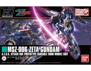 BANDAI MODEL KIT HG GUNDAM ZETA REVIVE 1/144 MODEL KIT