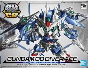 BANDAI MODEL KIT SD CROSS SILHOUETTE GUNDAM 00 DIVER ACE MODEL KIT