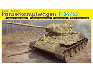 Dragon D6759 PANZERKAMPFWAGEN T-34/85 KIT 1:35 Modellino